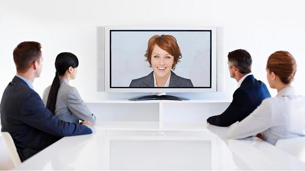 Telepresence Konferenz Video