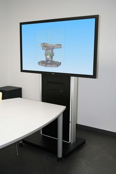 konferenzraum monitorwagen